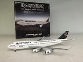 LI40090 | Hogan Die-cast 1:400 | Boeing 747-400 Iron Maiden TF-AAK, 'The Book of Souls' World Tour