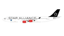 JC2094B | JC Wings 1:200 | Airbus A340-300 SAS OY-KBM, Star Alliance