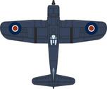 OXAC070 | Oxford Die-cast 1:72 | Vought Corsair III, FAA, 718 Sqn, Ballyhalbert NI 1945 | is due : TBC