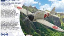 AA33108 | Corgi 1:72 | Mitsubishi A6M2 Zero, AI-I54 s/n.5289, Takashi Hirano, IJN Aircraft Carrier Akagi, Pearl Harbor | is due:
