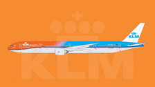 PH11286 | Phoenix 1:400 | Boeing 777-300ER KLM PH-BVA, 'Orange Surprise' | is due: July / August 2016