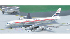ACJA8001 | Aero Classics 1:400 | DC-8 JAL Japan Air Lines JA8001 (delivery colours)