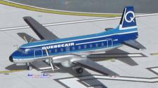 ACCFAGI | Aero Classics 1:400 | HS 748 Quebecair C-FAGI