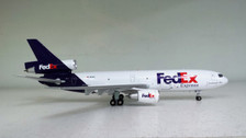 JF-DC10-3-005 | JFox Models 1:200 | DC-10-30 FedEx N319FE (with stand)