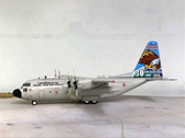 JF-C130-001 | JFox Models 1:200 | C-130 Hercules Thai AF 60108, '30th Anniv.' (with stand)
