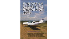 ERH16B | Air-Britain Books | European Registers Handbook 2016 - Dave Partington (book version)
