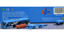 XX2023 | JC Wings 1:200 | Airport Accessories - KLM Airport Service Support Vehicles (GSE) - Set 3 | is due: November 2016