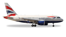 562560   Herpa Wings 1:400   Airbus A318 British Airways G-EUNA   is due: January / February 2017