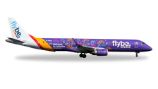 529792 | Herpa Wings 1:500 | Embraer E-195 Flybe G-FBEJ, 'Welcome to Yorkshire' | is due: January / February 2017