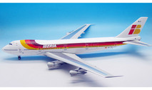 IF7421016 | InFlight200 1:200 | Boeing 747-200 Iberia EC-DLC (with stand)