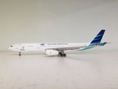 JF-A330-006 | JFox Models 1:200 | Airbus A330-300 Garuda Indonesia PK-GPZ (with stand)