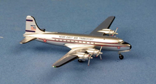 AC1503 | Aero Classics 1:400 | Douglas DC-4 Near East  Air Transport 'Operation Magic Carpet' N66756
