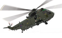 AA33421 | Corgi 1:72 | Sea King HC.4 Helicopter ZA290, 846 NAS, Falklands 1982 | is due: April 2017