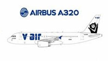 DAVAX316 | JC Wings 1:400 | Airbus A320-232 V Air B-22316 | is due February 2017