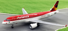 ACPRONK | Aero Classics 1:400 | Airbus A320 -214 Avianca Brazil PR-ONK
