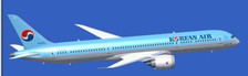 XX2029 | JC Wings 1:200 | Boeing 787-9 Korean Air HL8081, 'Flaps Up' (with stand) | is due: February 2017