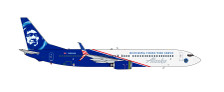 GJASA1624 | Gemini Jets 1:400 1:400 | Boeing 737-900 Alaska N565AK 'Honouring Those Who Serve' | is due: February 2017