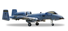 558433 | Herpa Wings 1:200 1:200 |  A-10c Thunderbolt II 82-0661, USAF Indiana ANG,163rd FS 'Blacksnakes' (die-cast)