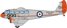 OX72DR014 | Oxford Die-cast 1:72 | DH Dragon Rapide  Dominie,HG709,RNAS Culdrose | is due: April 2017