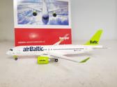 558457 | Herpa Wings 1:200 | Bombardier CS300 AirBaltic YL-CSA (die-cast)
