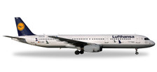 558563 | Herpa Wings 1:200 1:200 | Airbus A321 Lufthansa D-AIRR, 'Kranichschutz' (plastic) | is due: May / June 2017
