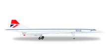 527477-001 | Herpa Wings 1:500 | Concorde British Airways G-BOAF 'Negus' | is due: May / June 2017