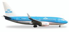 530200   Herpa Wings 1:500   Boeing 737-700 KLM PH-BGP,'Pelikaan'   is due: May / June 2017