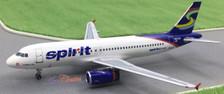 ACN601NK | Aero Classics 1:400 | Airbus A320 Spirit Airways N601NK