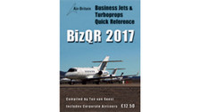 BJQR17 | Air-Britain Books | BizQR Business Jets & Turboprops Quick Reference 2017