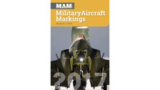 MAM17 | Books | MAM - Military Aircraft Markings 2017 - Howard J Curtis