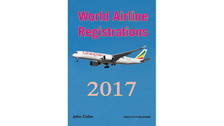 WAR17V1 | Books | World Airline Registrations 2017 - John Coles