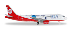 557306 | Herpa Wings 1:200 1:200 | Airbus A320 Air Berlin D-ABNB, 'Discover USA'