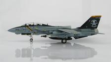 HA5204 | Hobby Master Military 1:72 | F-14A Tomcat US Navy, CO Aircraft AA103, VF-103 'Jolly Rogers'