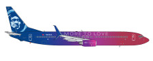 GJASA1641 | Gemini Jets 1:400 1:400 | Boeing 737-900 Alaska N493AS, 'More to Love' | is due: April / May 2017