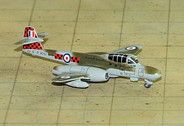 SF278 | SkyFame Models 1:200 | Gloster Meteor NF.11 RAF WD763:H, 85 Sqn., CO's Aircraft