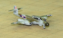 SF283   SkyFame Models 1:200   Gloster Meteor NF.12 RAF WS609:B, 46 Sqn., Odiham 1955