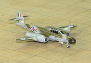 SF284 | SkyFame Models 1:200 | Gloster Meteor NF.12 RAF WS605:D, 64 Sqn., Duxford 1957