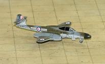 SF292 | SkyFame Models 1:200 | Gloster Meteor NF.14 RAF WS750:W 25 Sqn., Waterbeach