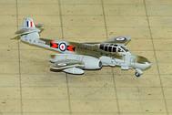SF291 | SkyFame Models 1:200 | Gloster Meteor NF.13 RAF WM321, 219 Sqn., Kabrit