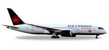 558600 | Herpa Wings 1:200 1:200 | Boeing 787-8 Air Canada C-GHPQ (Plastic) | is due: July / August 2017