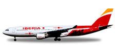 558624 | Herpa Wings 1:200 1:200 | Airbus A330-200 Iberia ' Madrid,Heart of Spain',EC-MIL'Oaxaca' (Plastic) | is due: July / August 2017