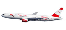 611633 | Herpa Snap-Fit (Wooster) 1:200 | Boeing 777-200ER Austrian OE-LPD, 'Servus HK' | is due: July / August 2017