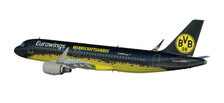 611602 | Herpa Snap-Fit (Wooster) 1:100 | Airbus A320 Eurowings D-AIZR, 'BVB Mannschaftsairbus' (plastic) | is due: July / Augut 2017