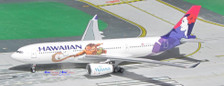 ACN390HA | Aero Classics 1:400 | Airbus A330-200 Hawaiian N390HA