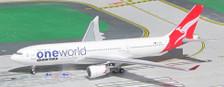 ACVHEBV | Aero Classics 1:400 | Airbus A330-200 Qantas VH-EBV, 'oneworld'