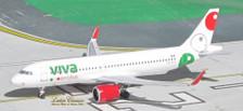 ACXAVIV | Aero Classics 1:400 | Airbus A320neo Viva Aerobus XA-VIV