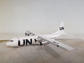IF1300417 | InFlight200 1:200 | L-100-30 Hercules (L-382G) UNITED NATIONS ZS-JIZ (with stand)