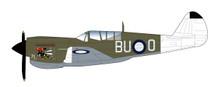 HA5505 | Hobby Master Military 1:72 | P-40N Warhawk RAAF BU-O, 'Angry Bee', 80 Sqn., Lt. Ken Goldring, Nov 1944 | is due: August / September 2017