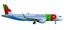 558747 | Herpa Wings 1:200 1:200 | Airbus A320 TAP Air Portugal CS-TNS ' D Alfonso Henriques' (plastic) | is due: September/October 2017