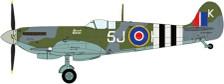 JCW-72-SPF-001 | JC Wings 1:72 | Spitfire Mk.IX RAF 126Sq Johnny Plagis